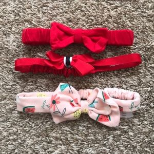 Gymboree hairbow lot.
